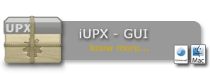 iUPX Gui for Mac OS X